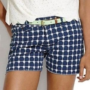 Madewell Graphic Grid Cutoff Denim Shorts